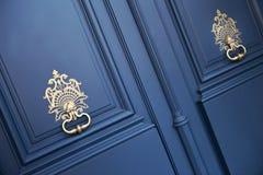 Door and knockers royalty free stock photos
