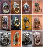 Door knockers Stock Photography