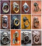 Door knockers Stock Photography