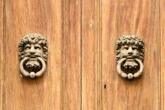 Door knockers Italy Stock Photo