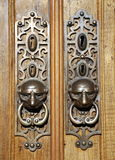 Door knockers Royalty Free Stock Photography