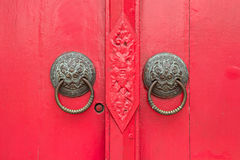 Door knockers Royalty Free Stock Photo