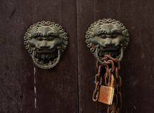 Door Knockers Royalty Free Stock Photo