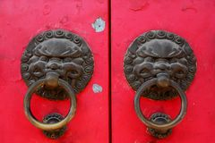 Door knockers Royalty Free Stock Image
