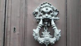 Door knoker. Iron Ring Handle Royalty Free Stock Photography