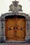 Door in konstanz germany Stock Photography