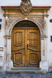 Door Krakow Poland Royalty Free Stock Photography