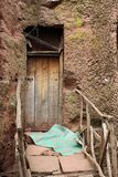 Door in Lalibela, Ethiopia Royalty Free Stock Image