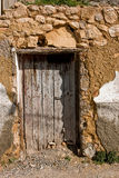 Door in las cruces District, Alcala la real Stock Photography