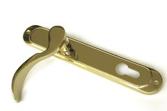 Door latch Royalty Free Stock Photo