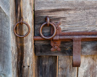 Door Latch Close Up Stock Photography