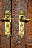 Door and latch of the Great Church Royalty Free Stock Image
