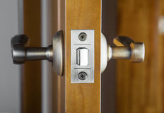 Door Latch Royalty Free Stock Photography