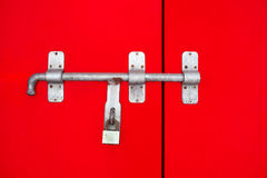 Door latch Stock Image