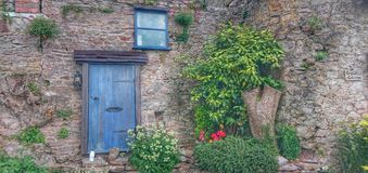 A door leading nowhere Royalty Free Stock Photography