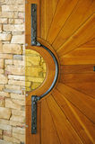 Door leaf background Royalty Free Stock Photography