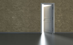 Door and light Royalty Free Stock Photo