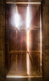 Door lighting old. To illustrate a general background Stock Photos