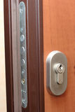 Door lock Stock Photo