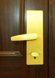 Door with lock Royalty Free Stock Image