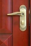 Door lock. The close-up of door lock stock image