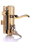 Door lock Royalty Free Stock Images