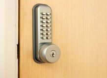 Door lock Royalty Free Stock Photography