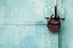 Door and lock Stock Photo