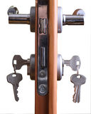 Door lock Stock Image