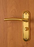 Door lock and handle Stock Image