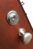 The door lock in a home Stock Photo