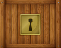 A door lock Stock Photography