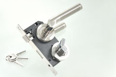 Free Door Lock Parts Royalty Free Stock Image - 21665536