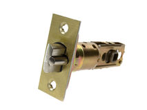 Door lock system Stock Photo