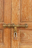 Door locked Stock Photography