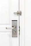 Door locked with Doorknob Royalty Free Stock Photography
