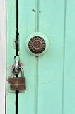 Door locked Royalty Free Stock Photography