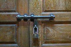 Door locked Stock Image