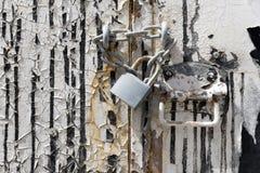 Door with lockpad Stock Images