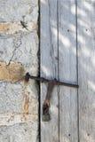 Door with lockpad Royalty Free Stock Photo