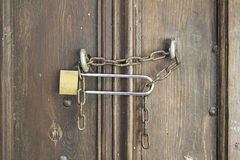 Door locks Stock Images