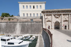 The door of the mainland zadar dalmatia croatia europe Stock Image