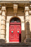 The door in Malta. The doot in the town of Mdina, Malta Royalty Free Stock Photography