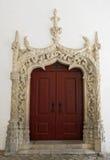 Door in manueline style Royalty Free Stock Photos