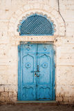 Door in massawa eritrea with ottoman influenced ar Stock Image
