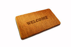 Door mat Royalty Free Stock Photo