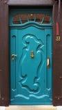Door of a medieval building. Stock Image