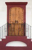 Door in Mexico Stock Image