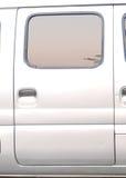 The door of a microbus Stock Photos