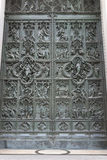 Door of Milan Cathedral, Italy Royalty Free Stock Image